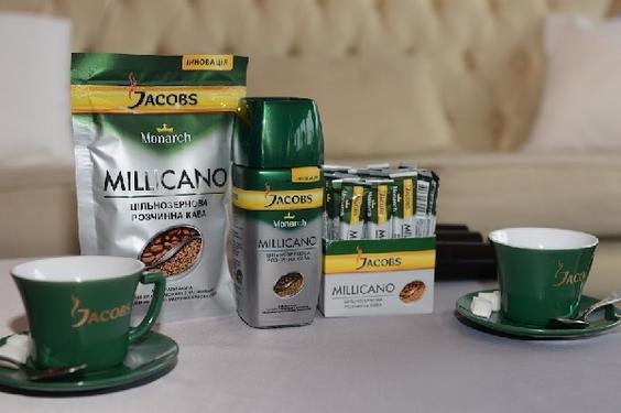 """Крафт Фудс Рус"""" выпустил молотый кофе в растворимом - Jacobs Monarch Millicano"""