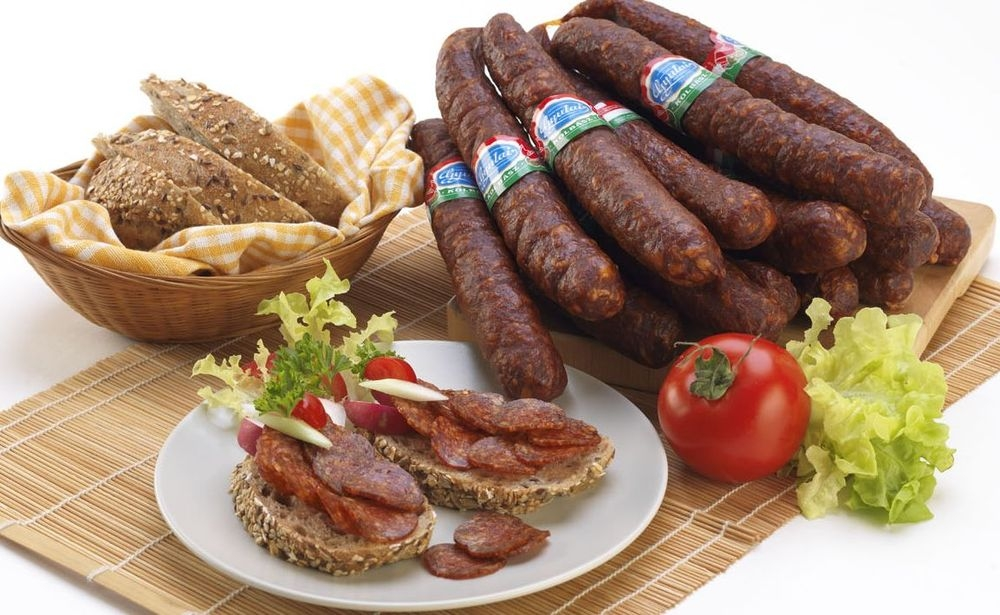 Gyula smoked dried sausage 250 g_2