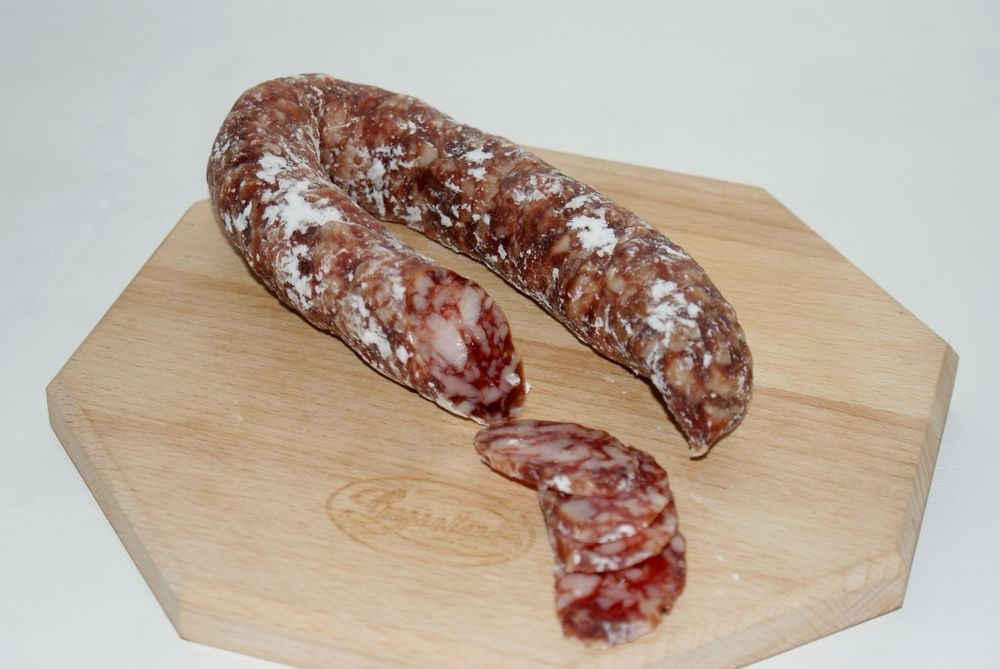 Gyula smooth only dried sausage without paprika 250 g_2